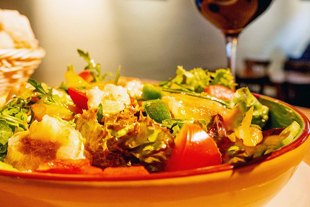 Salat Ziege